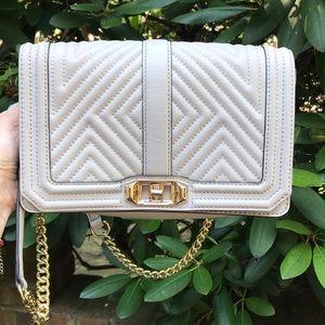 Rebecca Minkoff Chevron Love Handbag